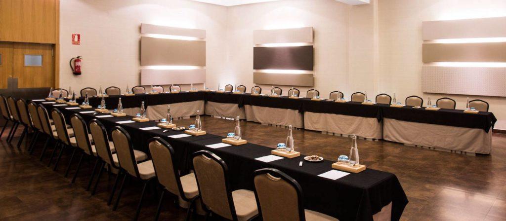 salones para eventos del hotel Vincci selección posada del patio en Málaga