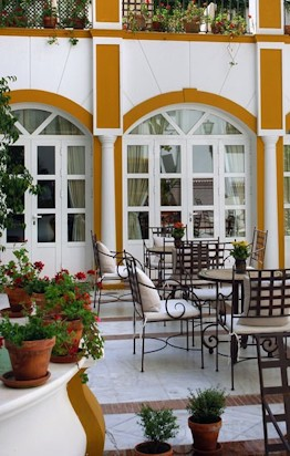 Patio Hotel Vincci La Rabida Seville
