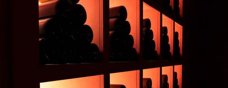 Garaje wines at Vincci Soma