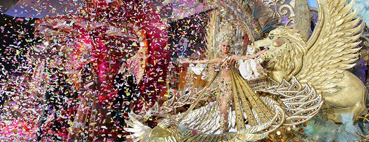 The most colourful celebration returns to Tenerife. It's Carnival time!