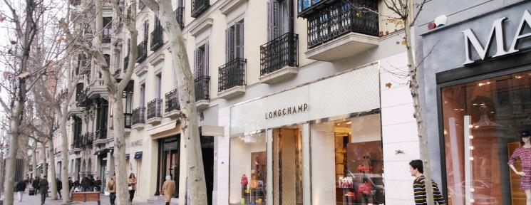 Shopping in Madrid's 'Milla de Oro'