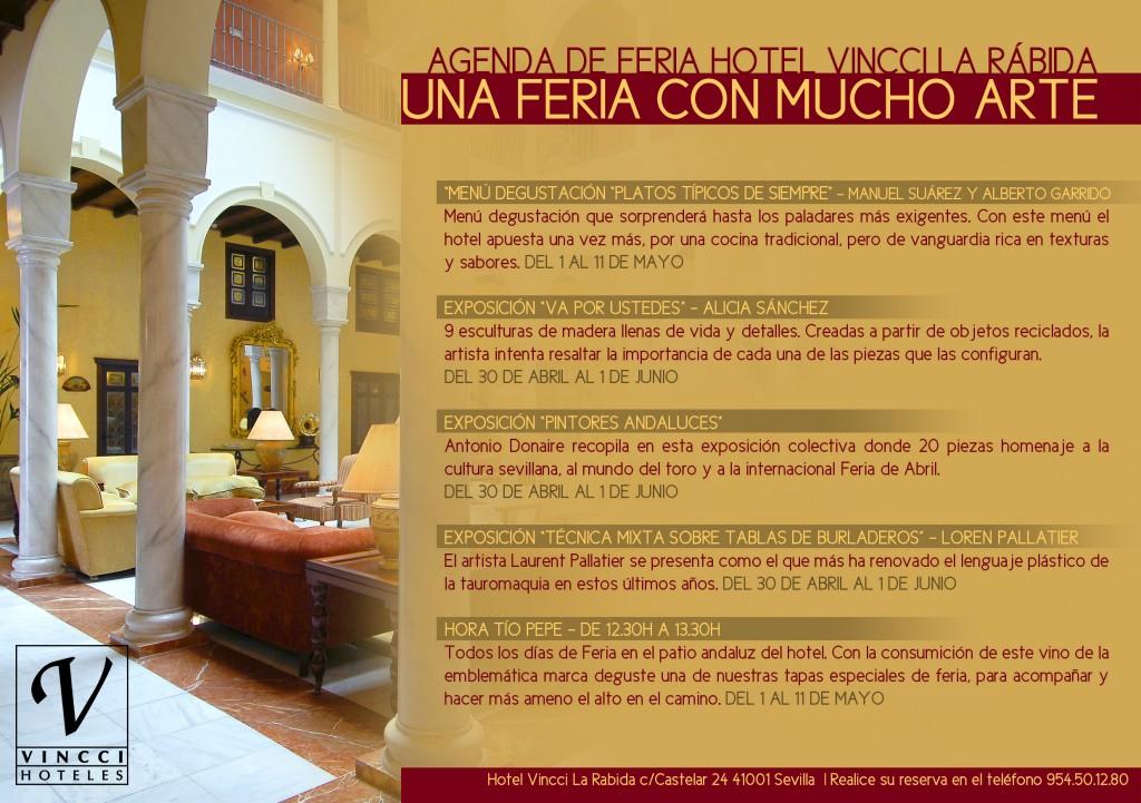 Calendario Feria de Abril hotel Vincci La Rabida 4