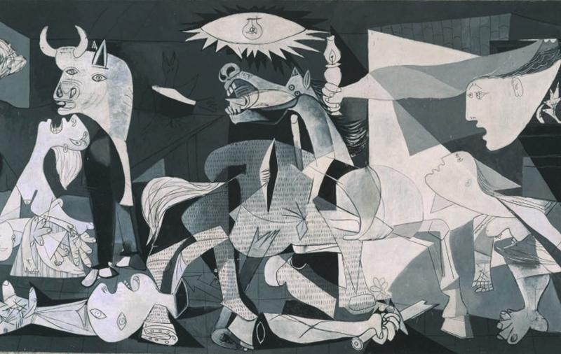 Guernica, Pablo Picasso Foto: página oficial del Museo Reina Sofía