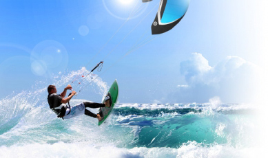 Kite surf en Marbella