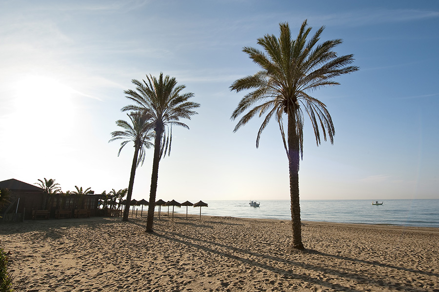 Elviria beach, Marbella, Málaga.