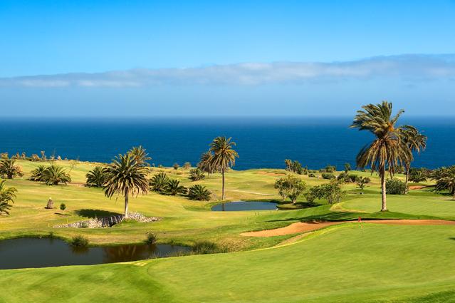 Golf course Buenavista Golf, Tenerife.