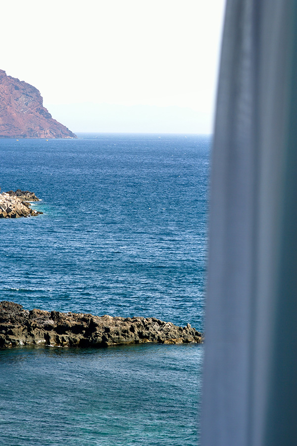 Views from one of hotel Vincci Tenerife Golf 4* Tenerife's rooms.