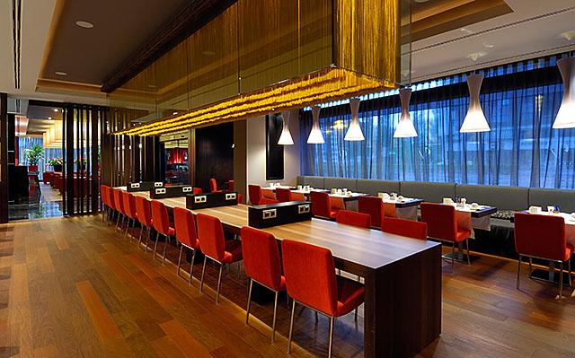 Tastevin Restaurant at the Vincci Frontaura 4* Valladolid.