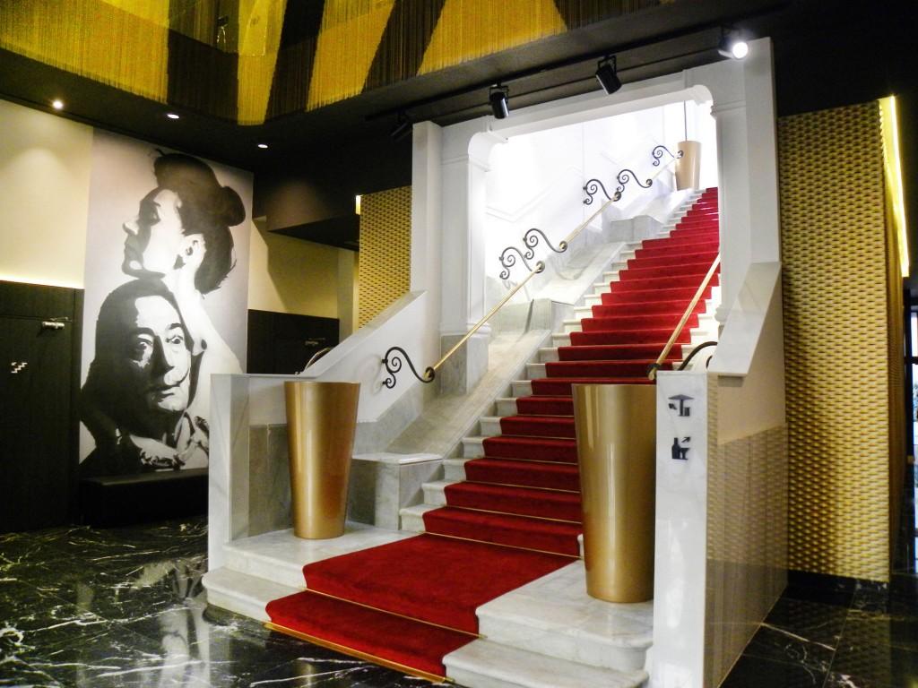 Main hall, hotel Vincci Gala 4* Barcelona.