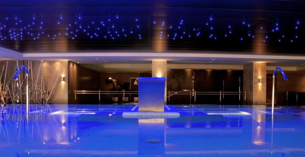 Nammu Area Spa at the hotel Vincci Selección Envía Almería Wellness & Golf 5* Almería.