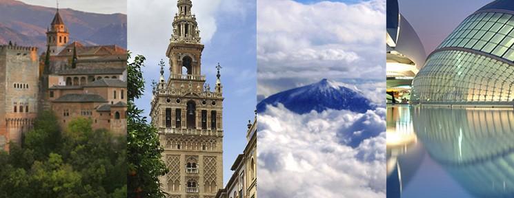 Spain's seven treasures
