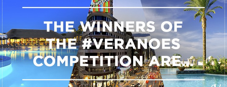 Find out if you are one of the winners of the #Veranoes competition