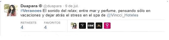 vincci hoteles twitter veranoes