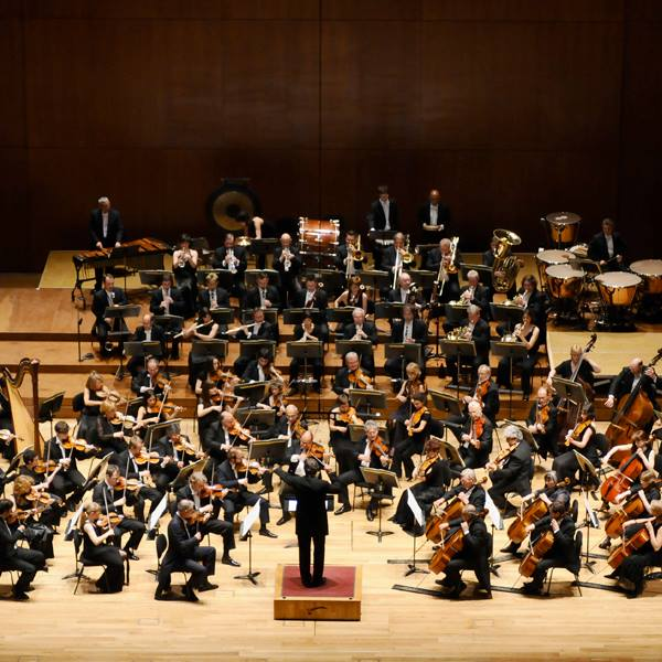 Bilbao Symphony Orchestra, participating in the 63rd International Festival of Santander. / Photo: Facebook Santander International Festival.