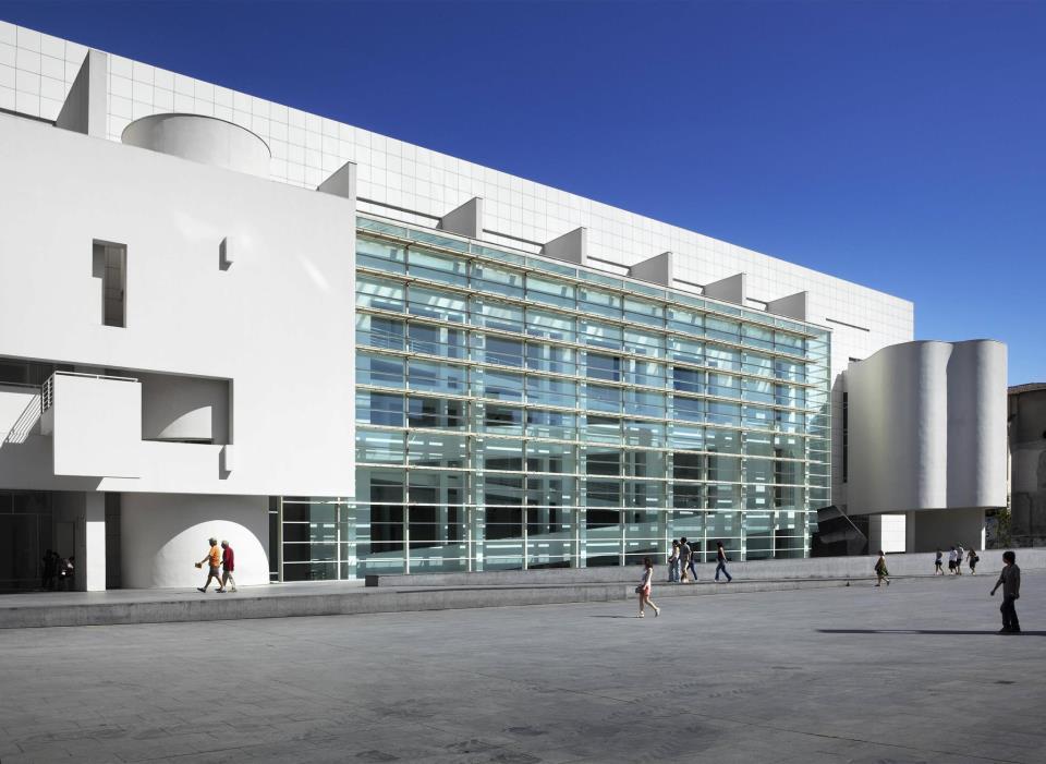 MACBA, Barcelona Museum of Contemporary Art. / Photo: Facebook profile of MACBA.