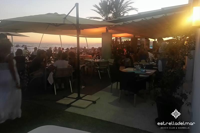 'Full Moon Party', at the Beach Club Estrella del Mar, Marbella.