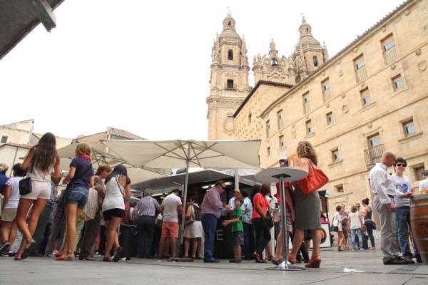 Previous edition of the Salamanca Day Fair. / Photo: lagacetadesalamanca.es