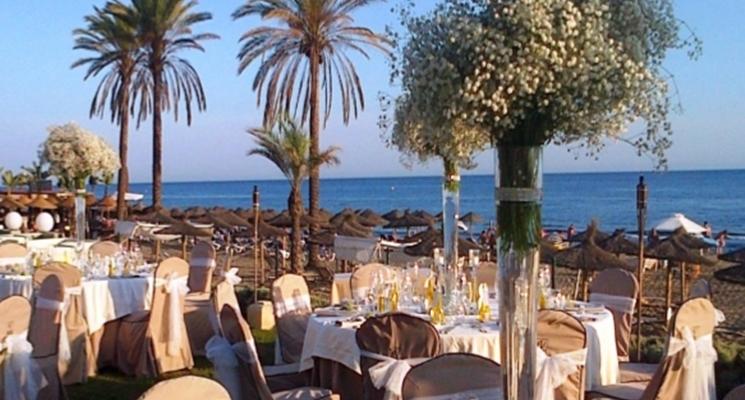 Celebrate your wedding by the sea at the beach club - Estrella del mar beach club ...