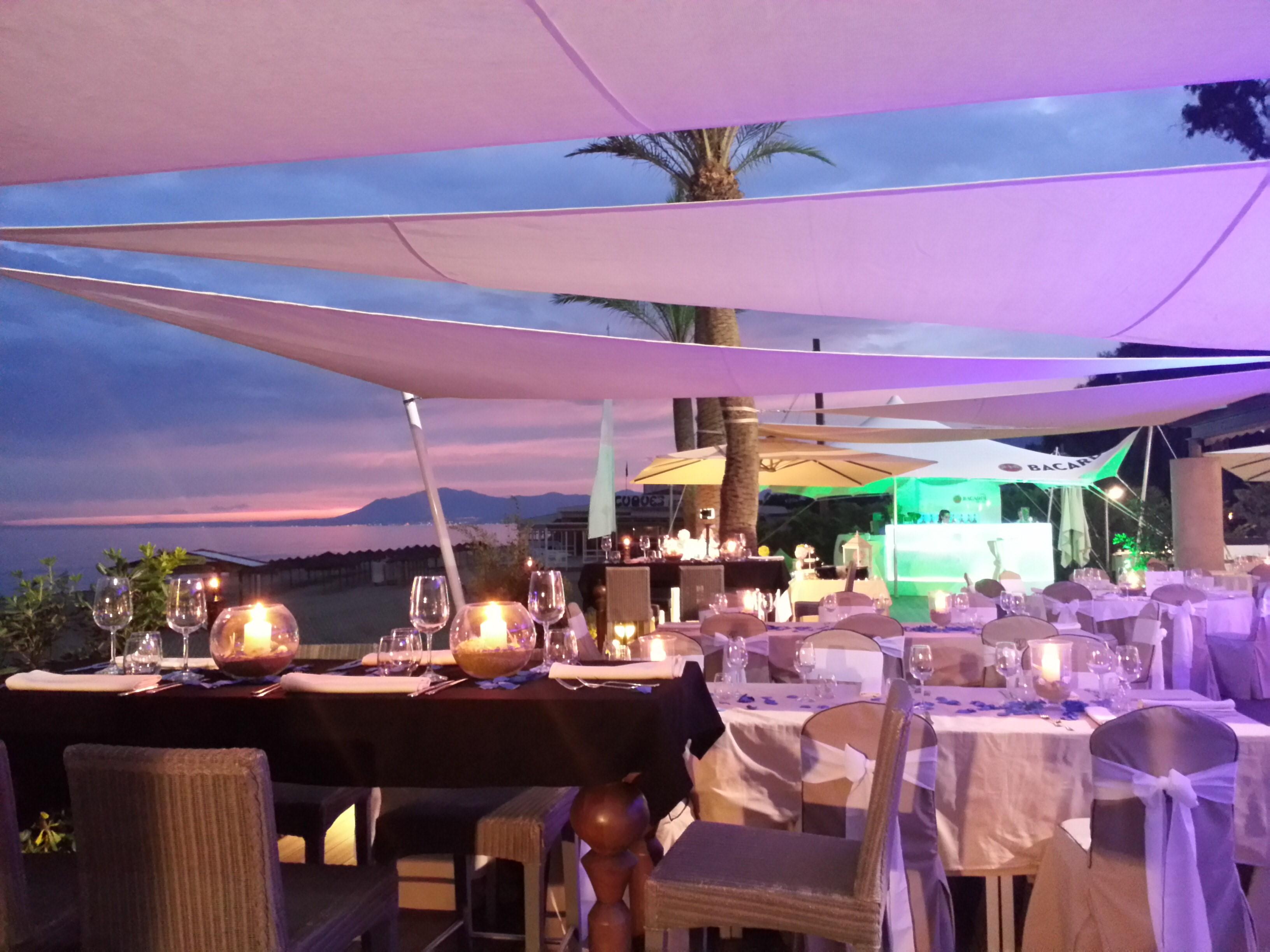wedding Beach Club Marbella Spain