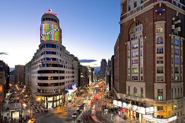 Vincci Capitol hotel en Gran Vía Madrid