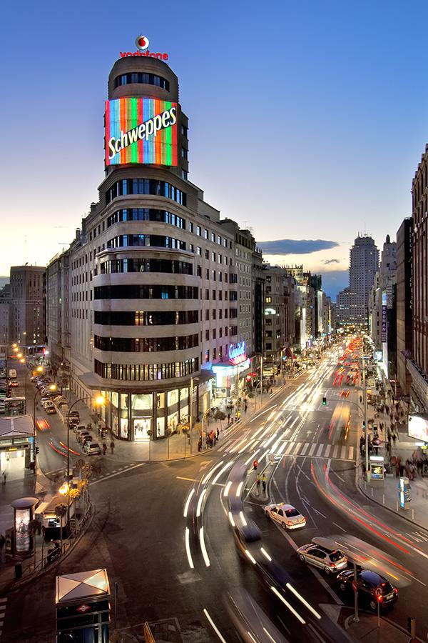 Hotel en Madrid Vincci Capitol4*