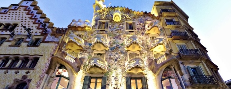 Virtual Tours in 3D of Lisbon, Salamanca, Valladolid, 'El Alcázar of Seville' and 'Casa Batllo'