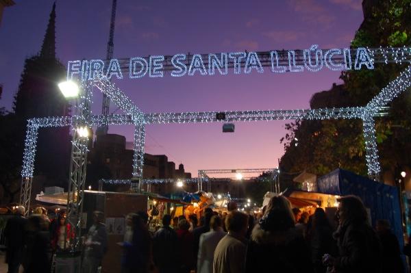 fira-santa-llucia-Barcelona