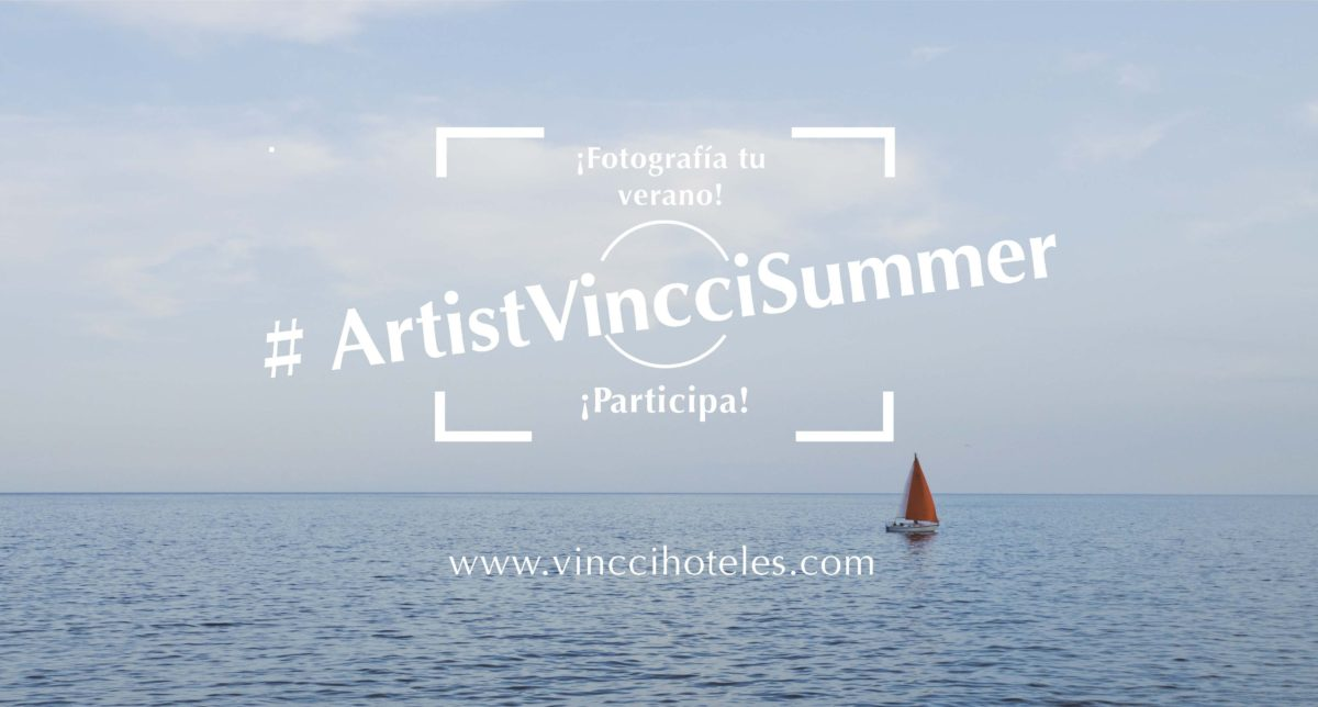 We're looking for the artist of the Vincci summer