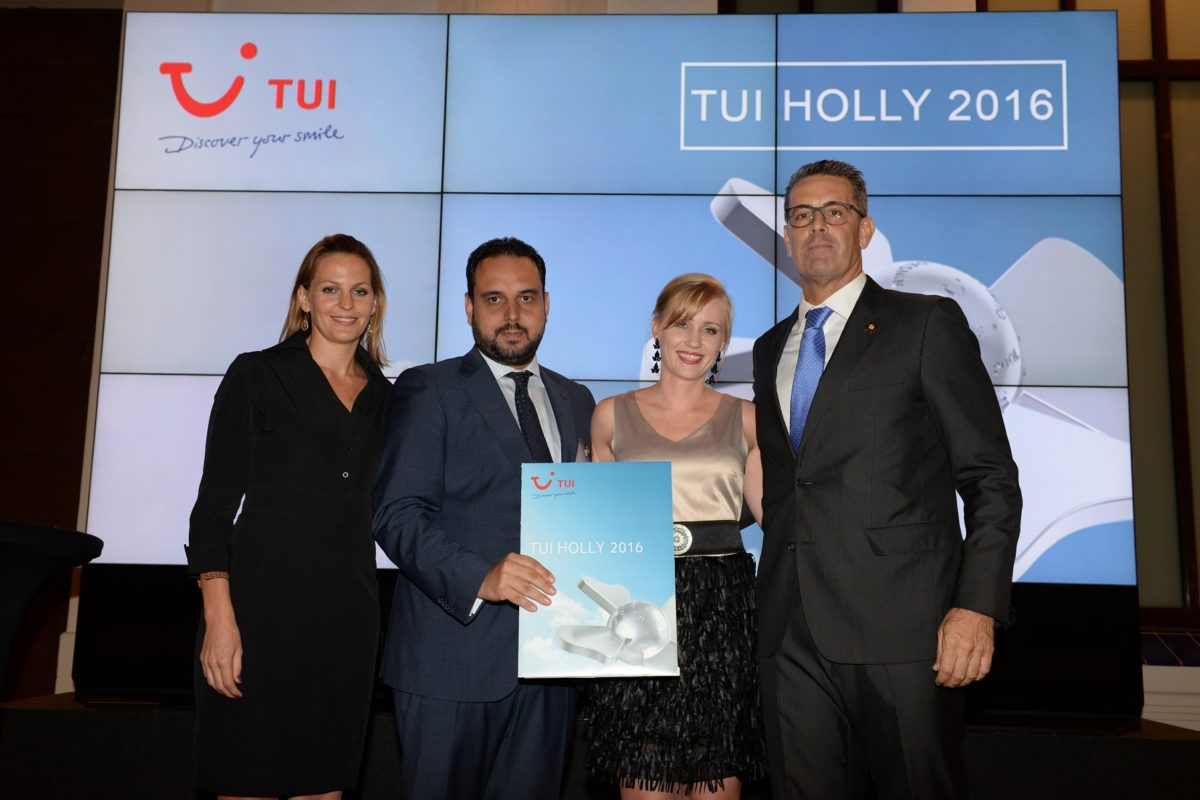 Vincci Selección La Plantación del Sur 5* Tenerife  wins a TUI Holly 2016