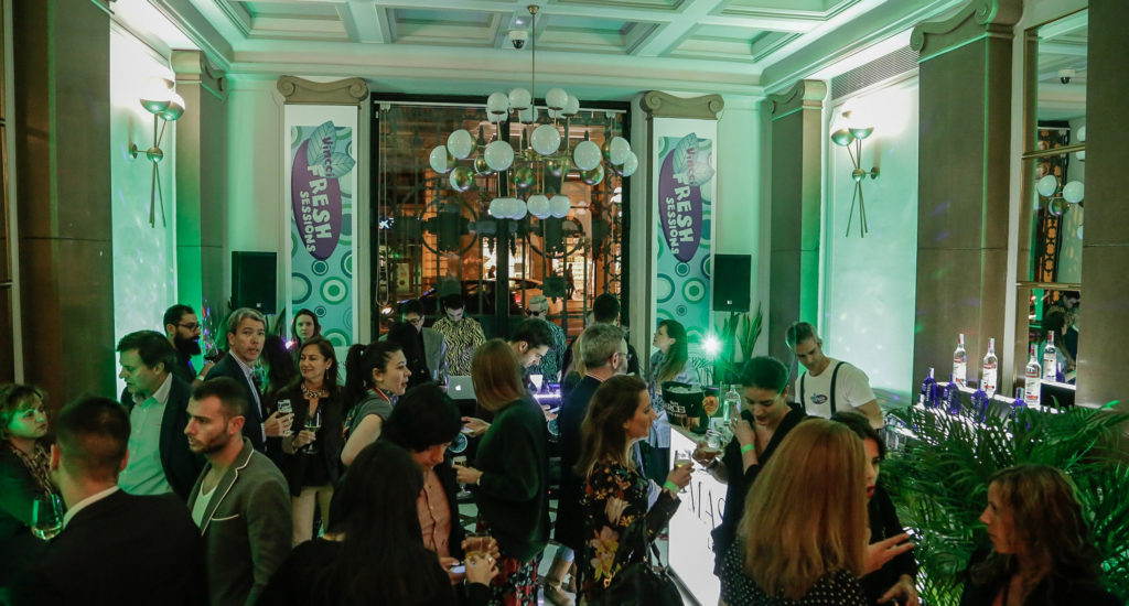 "The best moment of the week hits Vincci The Mint: the ""Vincci Fresh Sessions"""
