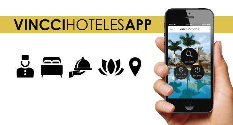 Vincci Hoteles launches an app that puts its services at the tips of your fingers using your phone or tablet