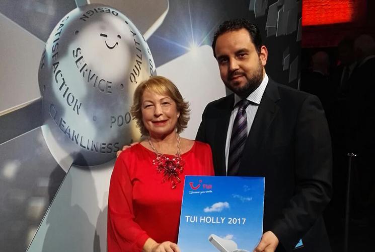 Vincci Selección La Plantación del Sur 5* (Tenerife) receives a TUI Holly 2017 award