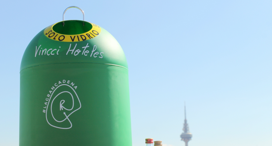 In 2016 Vincci Hoteles recycled nearly 1,000 tones of organic waste