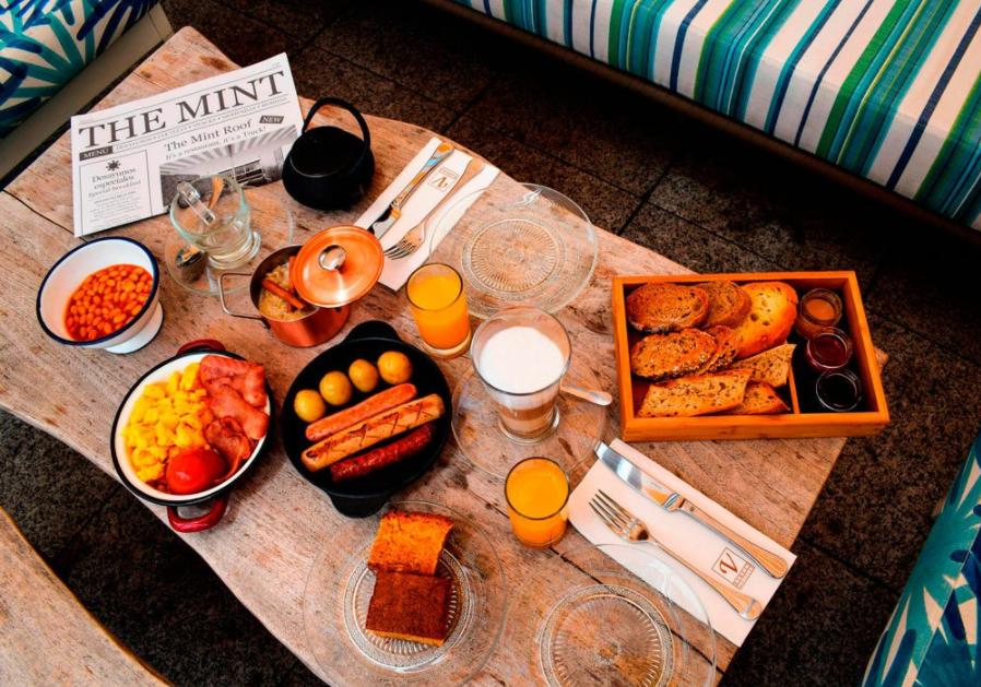 Full Monty Breakfast: this summer enjoy a British breakfast at Vincci The Min