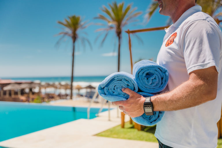 Towel Service - Beach Club