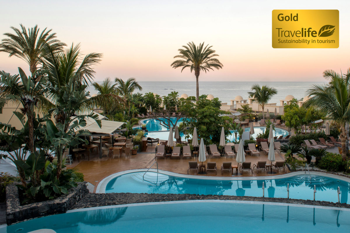 Several Vincci Hoteles properties obtain the Travelife Gold certificate
