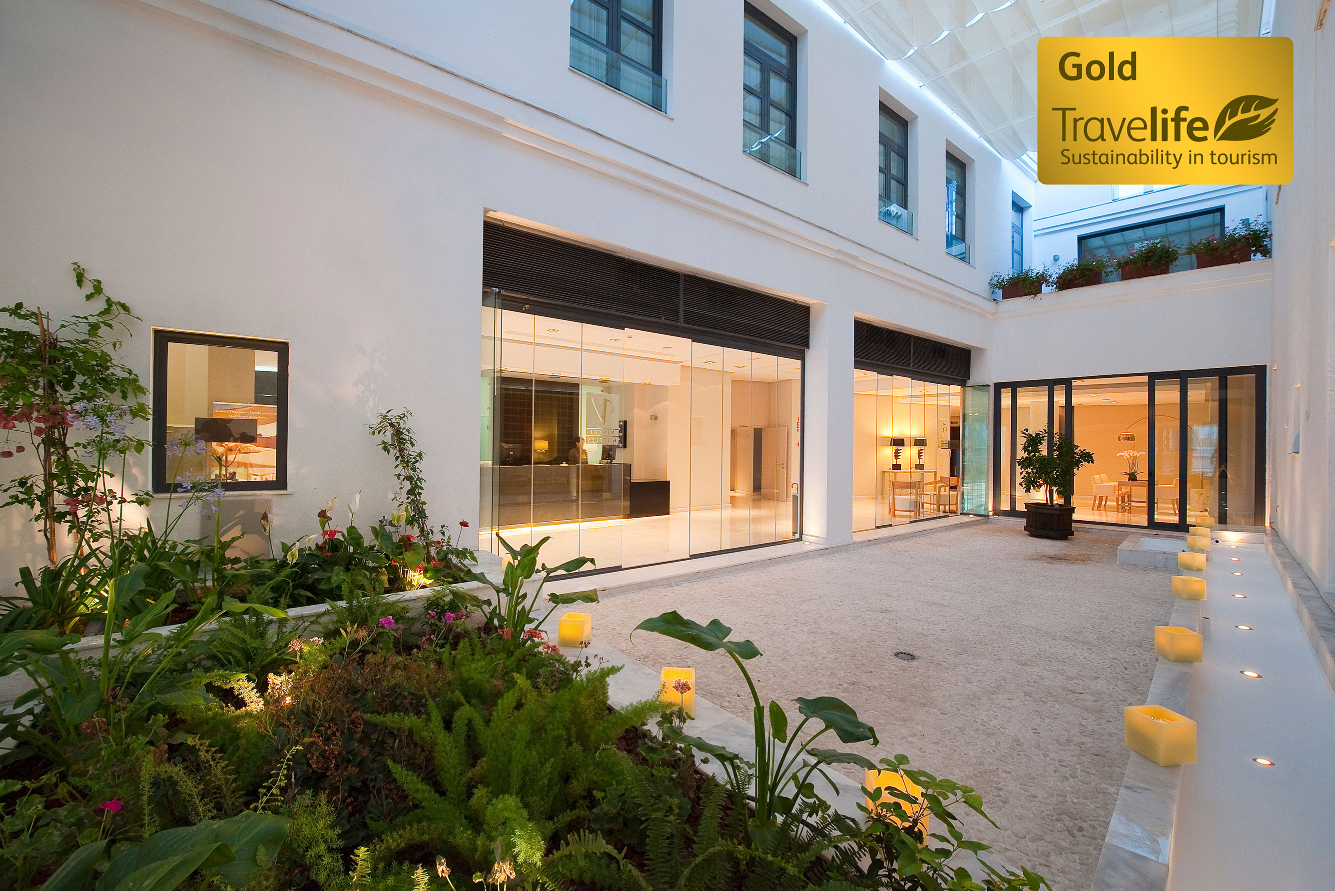 Vincci Hoteles Obtains The Travelife Gold Certificate