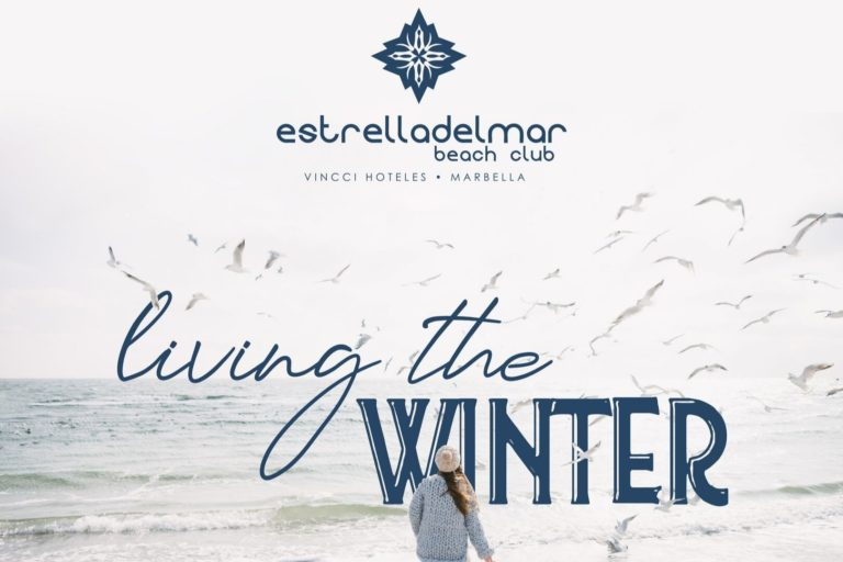 """LIVING THE WINTER"" at the Beach Club Estrella del Mar, because being by the sea isn't just for summer"