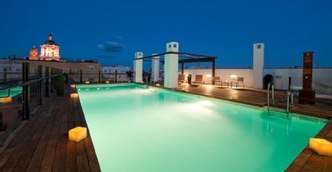 Piscina Hotel Vincci Selección Posada del Patio Málaga