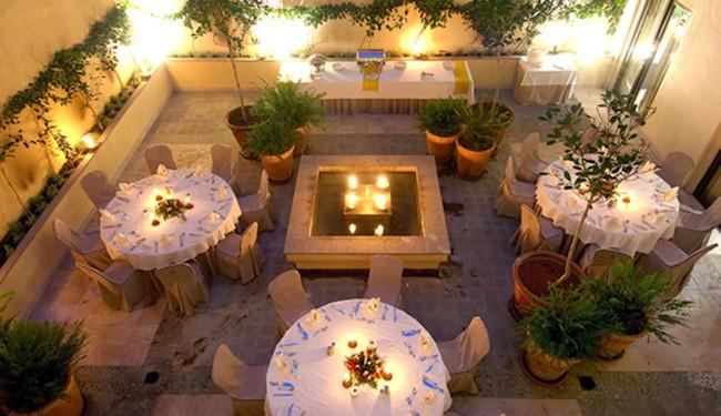 Patio eventos Hotel Vincci La Plantación del Sur Tenerife