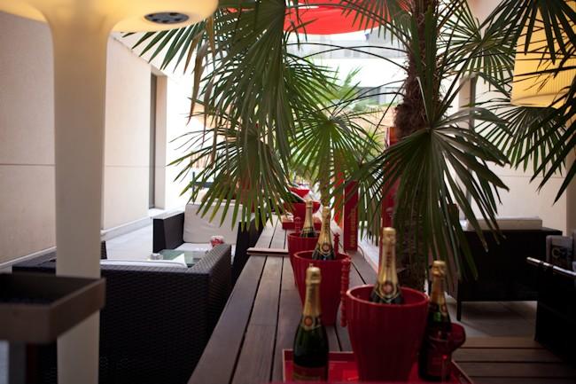 """""""Patio-Terraza hotel Vincci Soho Madrid"""""""