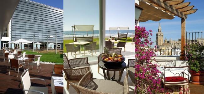 Terrazas verano Vincci Hoteles