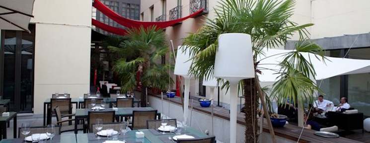 Disfruta del verano en Madrid desde la terraza de Vincci Soho