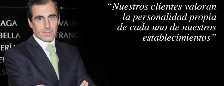 """Carlos Calero: """"A todos nos gusta sentirnos especiales y así tratamos de hacer sentir al cliente en Vincci Hoteles"""""""
