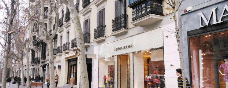 Ruta shopping por la 'Milla de Oro' de Madrid