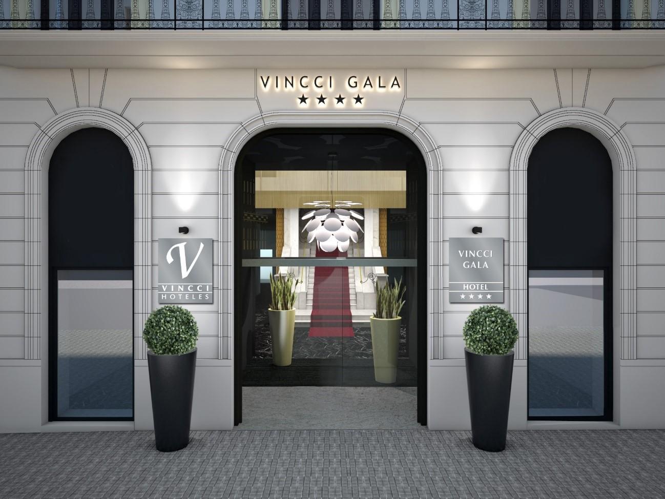 Vincci hoteles inaugura el vincci gala 4 en barcelona for Hoteles originales cataluna