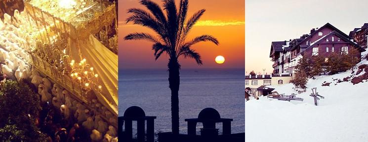 Los mejores destinos para disfrutar de la Semana Santa: ¿procesiones, playa o nieve?