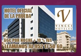 Hotel Vincci Málaga 4* Media Maraton de Málaga