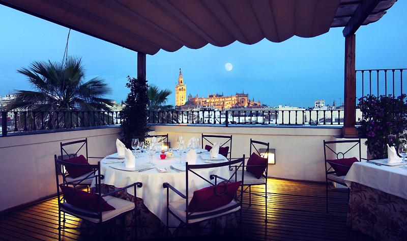 Restaurante El Mirador en hotel Vincci La Rábida