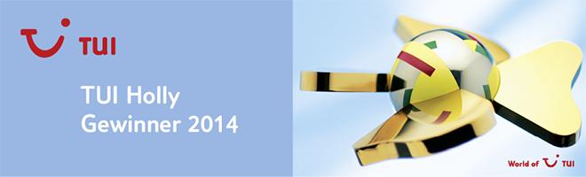Premio TUI 2014 entre los mejores del mundo